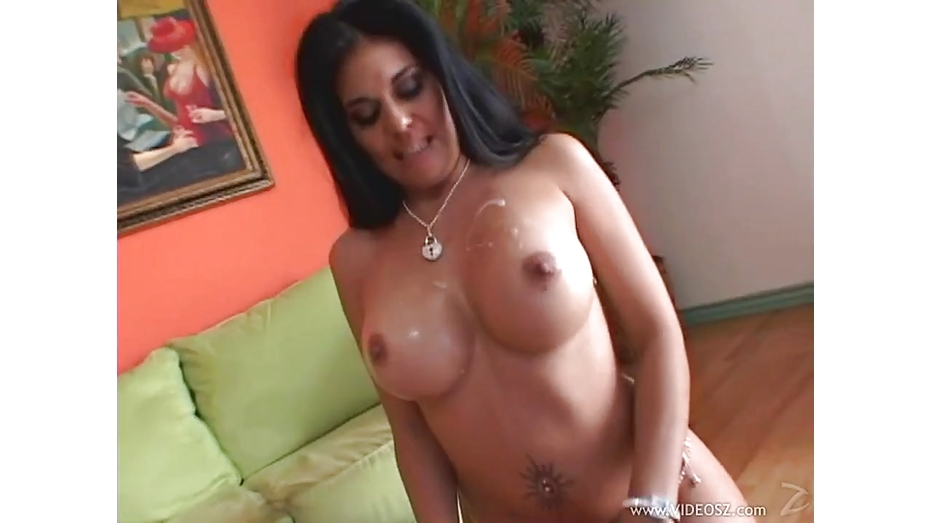 Sexy Olivia Olovely Gets Her Tits Glazed With Cum  Fux-4895
