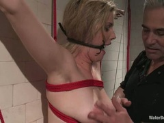 Faye runaway gets dominated in car by her mistress 9