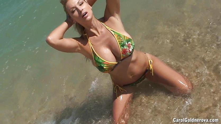 Goldnerova nude beach carol