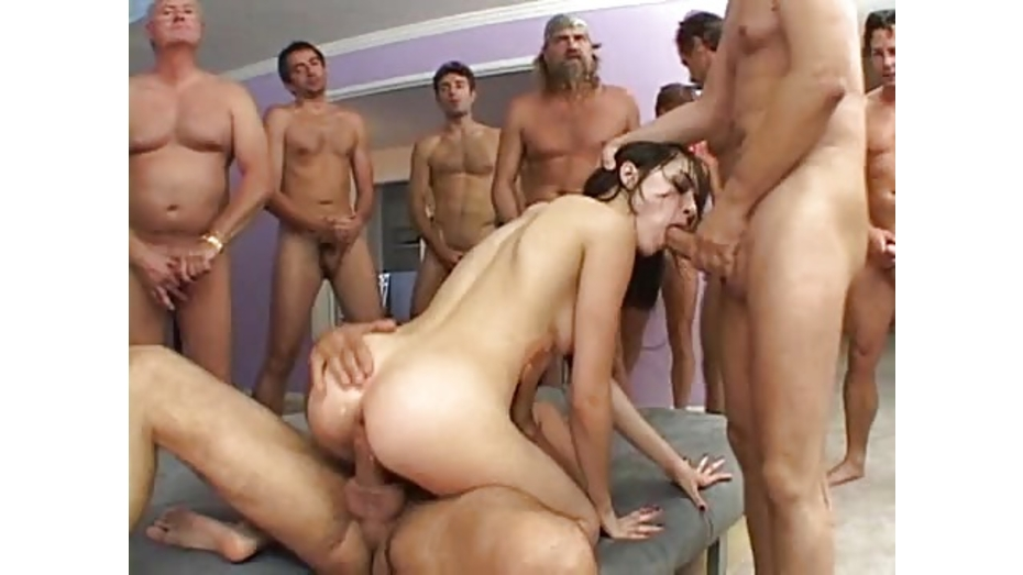 Hot Wife Creampie Gangbang
