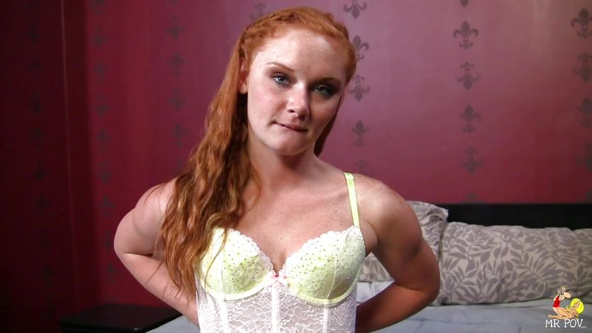 Barely legal redhead Alex Tanner delivering satisfying ball sac sucking BJ № 1303089 без смс