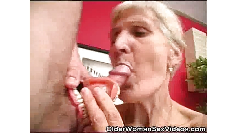 Women video dentures blowjobs