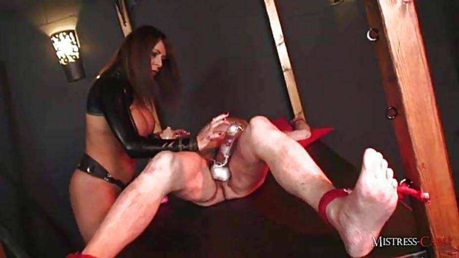 Mistress raven cock pumping