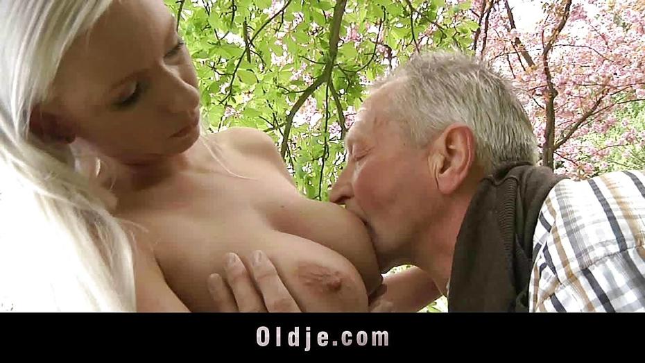 Breastfeeding Japanese Grandpa