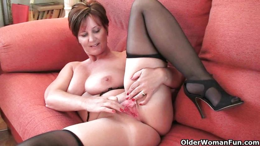 Milf amateur first time