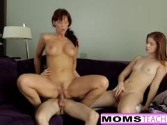 Teens moms redhead teaching