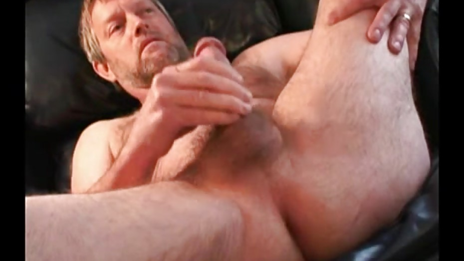 Naughty clay jerking off