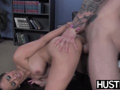 image Busty reena sky earns facial after godly fucking performance